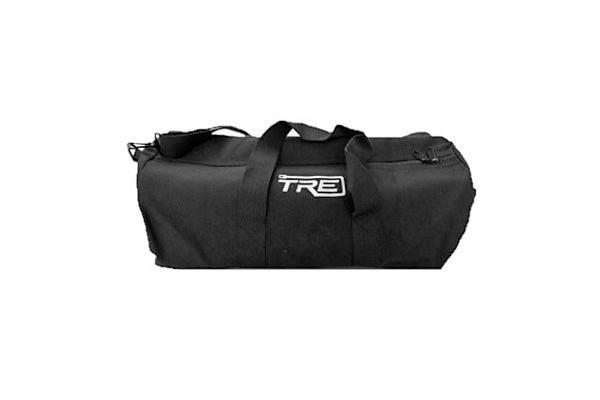 TRE Medium Black Canvas Duffel Bag