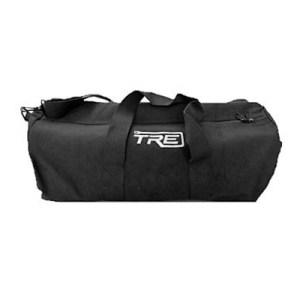 TRE Large Black Canvas Duffel Bag