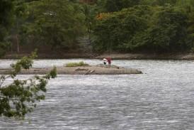 Ráfagas hunden bote de la AEE en Villalba