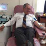 Súper de la Policía dona sangre para agente que sufrió accidente en Carolina