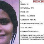 Joven desaparecida en San Juan