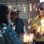 Senador Eric Correa visita pueblos de su distrito