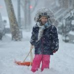 """""""Niko"""" la tormenta de nieve más fuerte y grande de este invierno para los Estados Unidos (20 Fotos)"""