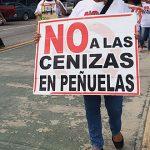 Defienden operativo policíaco a favor de depósito de cenizas en vertedero de Peñuelas