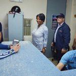 Autoridad de Edificios Públicos y Senado inspeccionan Cuartel de la Policía en Culebra