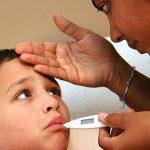 Si su niño contrae la influenza…