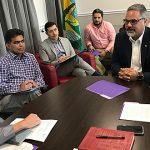 Alcalde de West Sacramento, California se reúne con el Alcalde de Luquillo en calidad de puente de recursos y ayudas