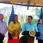 Gobernador Rosselló Nevares inaugura segundo puente modular en Canóvanas
