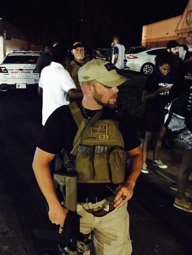 "An Oathkeeper ""protecting"" Ferguson"
