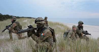 Romanian Marines to the BALTOPS 19 Exercise