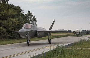 Second F-35 Lightning squadron for UK