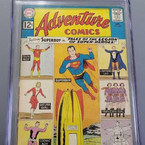 Adventure Comics #300 CGC 3.0