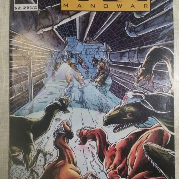 X-O Manowar, Vol 1, #15 – (Valiant, April 1993)