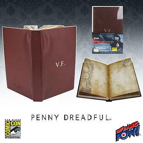Penny Dreadful Dr. Frankenstein Sketchbook Journal