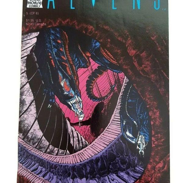 Aliens Comic #5 (of 6), 1st printing, Dark Horse Comics