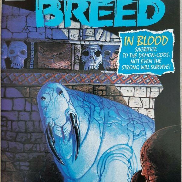 Night Breed #12, Marvel Comics / Epic, Clive Barker