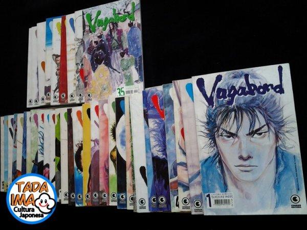 Sebo de Mangas Vagabond: A História de Musashi - 01 ao 43