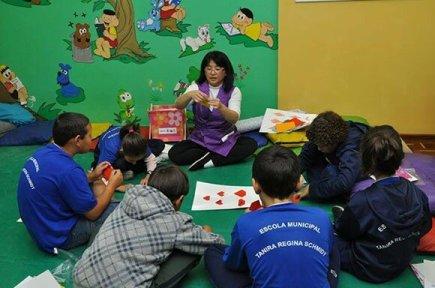 Origami: uma família difundindo a arte nas escolas