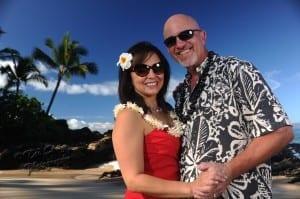 Makena Cove gorgeous wedding