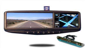 7400 GPS Navigation System with Hi-Def License plate backup camera