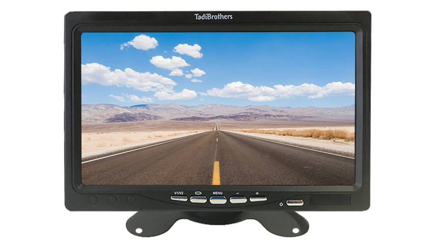 best ear view monitor for vehicle backup camera