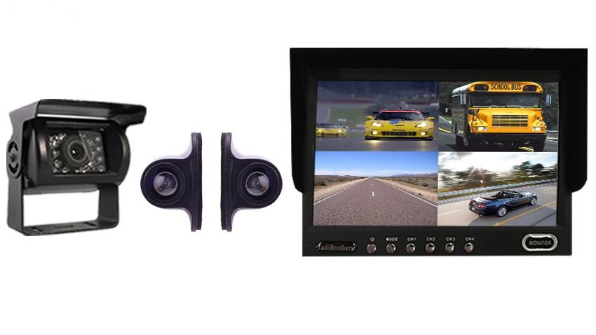 built your rv rear view camera system