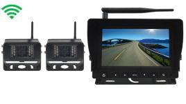 digital wireless backup camera system