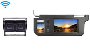 Wireless Double Lens RV Backup Camera with a Full