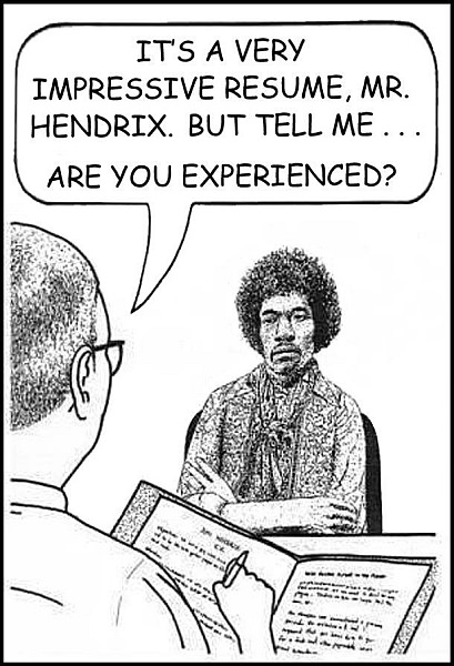 But are you experienced?