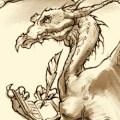 Dragon Writing by William Eaken