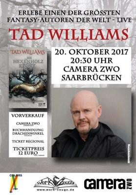 Announcing Tad´s event in Saarbrücken