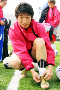 Park Eun-Seon of Seoul City. Photo courtesy of The Korea Times