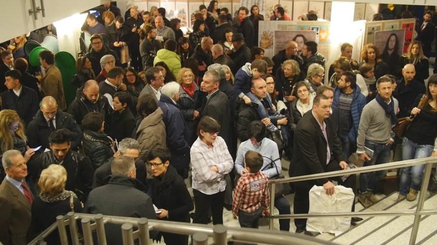 Il pubblico in attesa