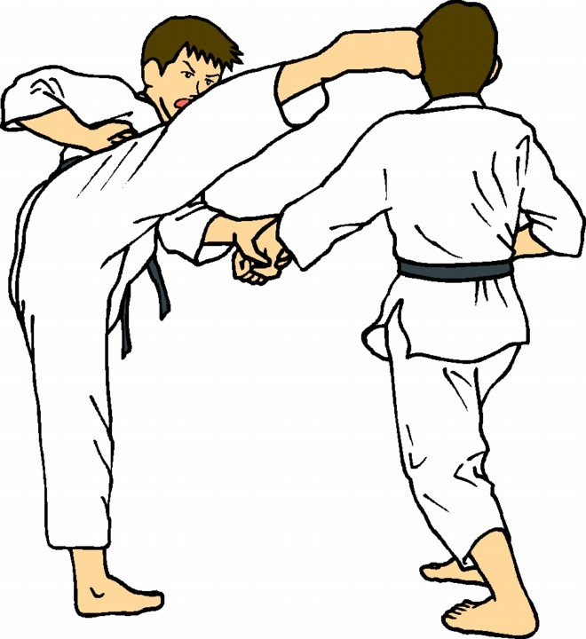 tae kwon do clipart