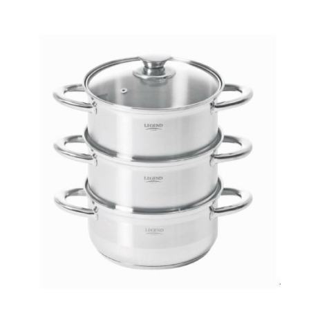 Legend Euro Chef 18cm 3 Tier Steamer