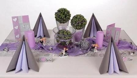 Tischdeko Hochzeit Lila Tischdeko Tips