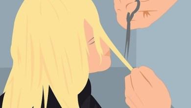 حلم قص الشعر للعزباء
