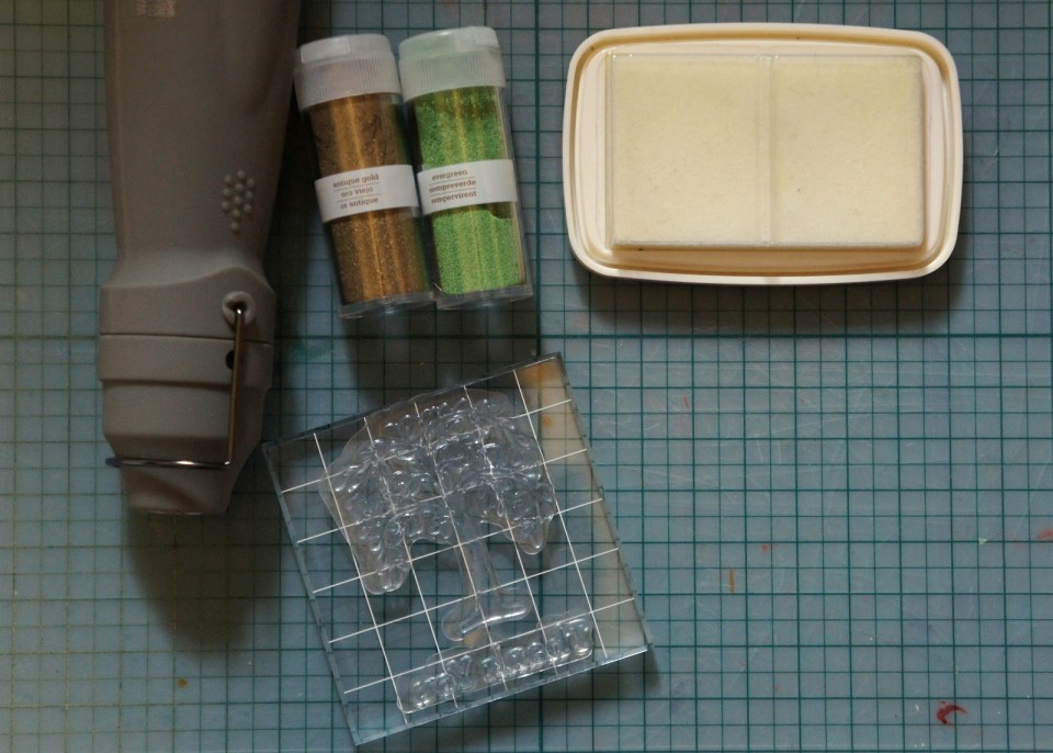 Materials for Heat Embossing