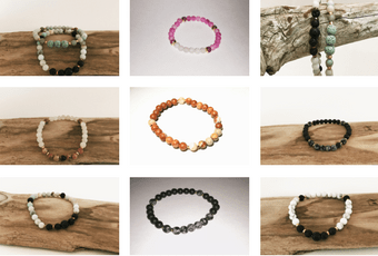 2017 Gemstone Bracelet Collection