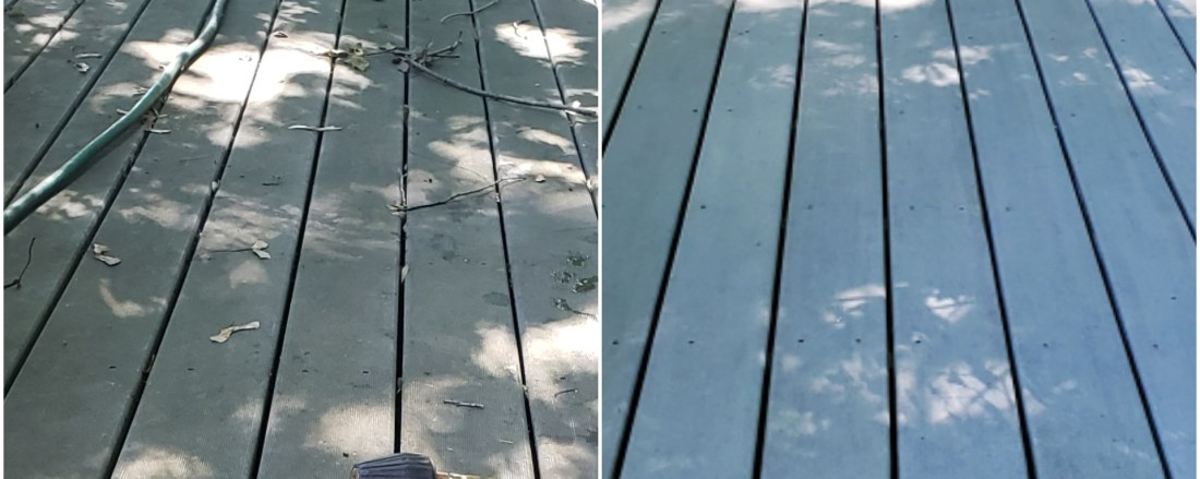 Deck repair and power washing of Fairfield CT