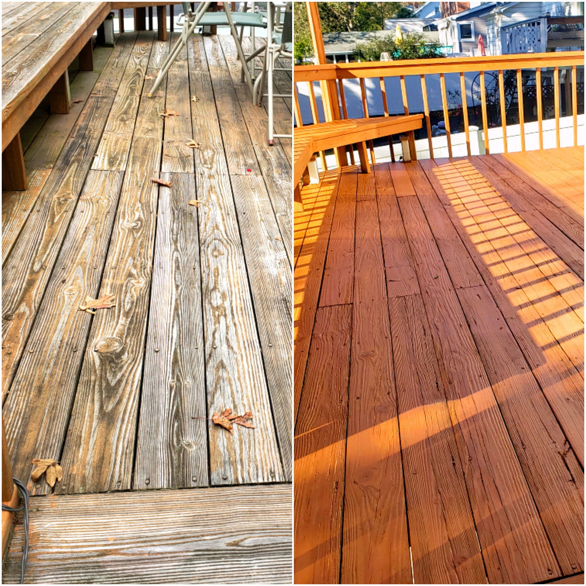 Pressure Washing and Deck restoration
