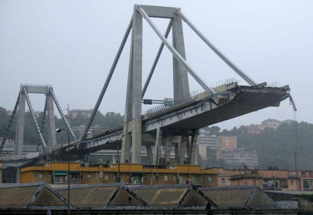 castellucci parla del crollo del ponte morandi