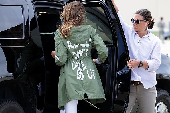 Jill biden melania Trump e le altre: se il vestito fa politica