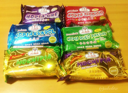 EngBeeTin's Different Hopia Flavors
