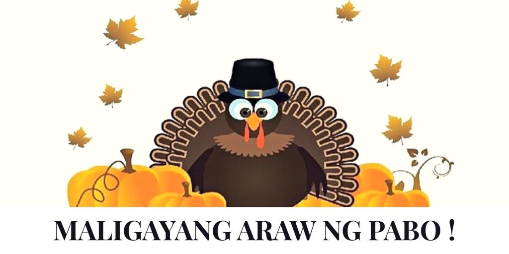 Tagalog Words for Thanksgiving!