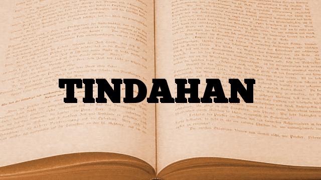 TINDAHAN