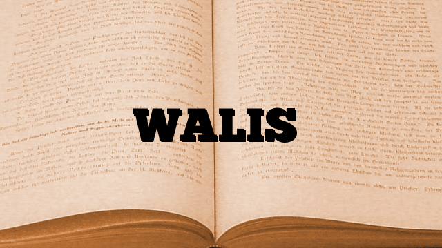 WALIS