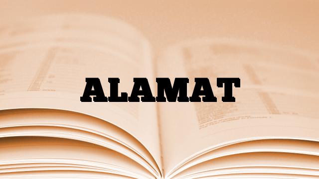ALAMAT