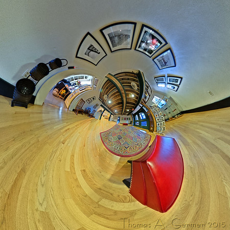 Arts Barn 5 - A spherical panorama taken in the Arts Barn in Gaithersburg, MD.
