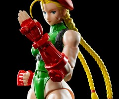 BANDAI 2017年8月發售: S.H.Figuarts《STREET FIGHTER V》Cammy 6,000Yen